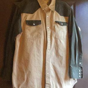 Men's XL Carhartt thick cotton Shirt